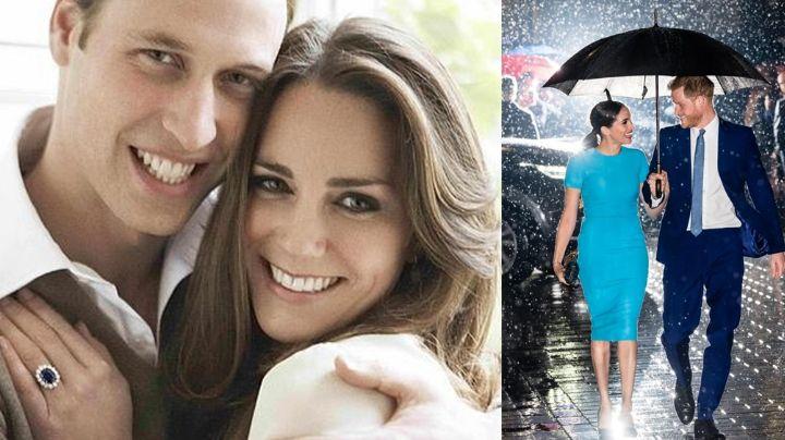 Kate Middleton recibe especial anillo de compromiso del Príncipe Harry antes de su boda con William