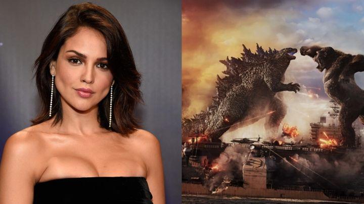 Eiza González conquista a todo Twitter con su aparición en 'Godzilla vs Kong'