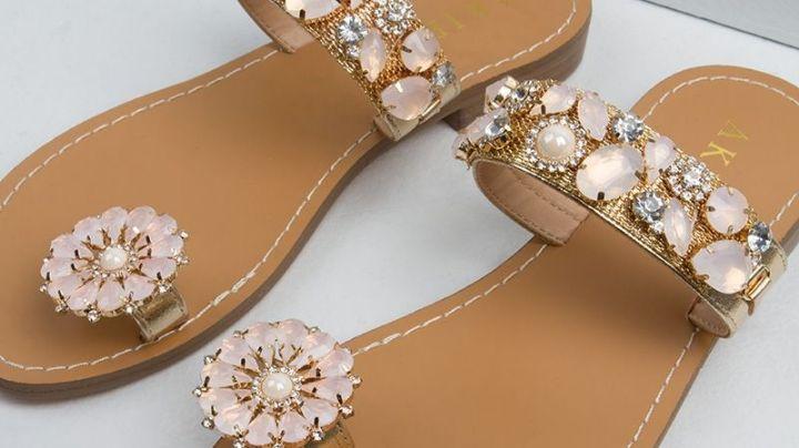 ¡Prepárate para la primavera! Estas sandalias con flores serán la sensación del momento
