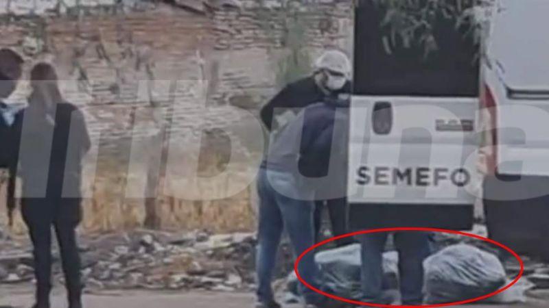 Macabro hallazgo: Encuentran dos cuerpos 'embolsados' en Ciudad Obregón