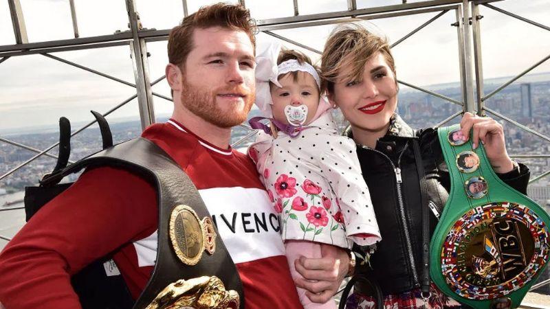 Tras celebrar el cumpleaños de su hija, 'Canelo' y su pareja darían positivo a Covid-19