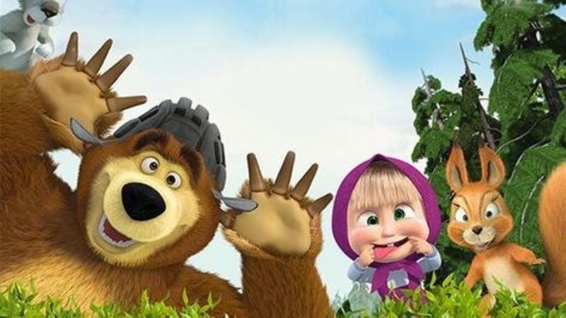'Masha y el Oso': Descubre por qué esta animación tiene tanto éxito entre el público infantil