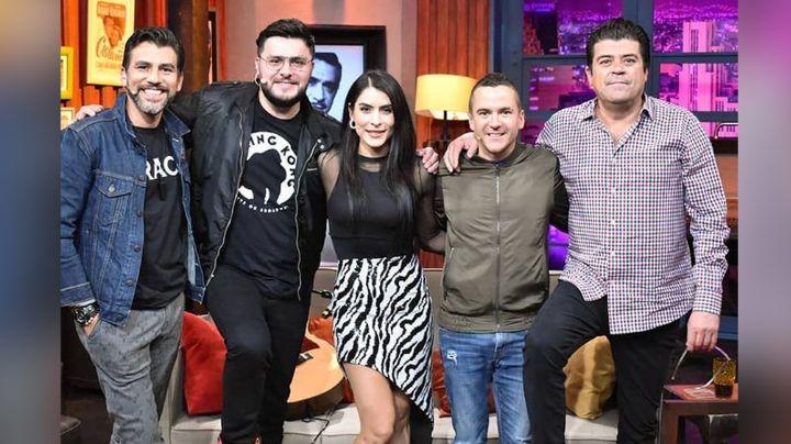 ¡Pleito en Televisa! Conductores de 'Hoy' se 'pelean' por el amor de María León