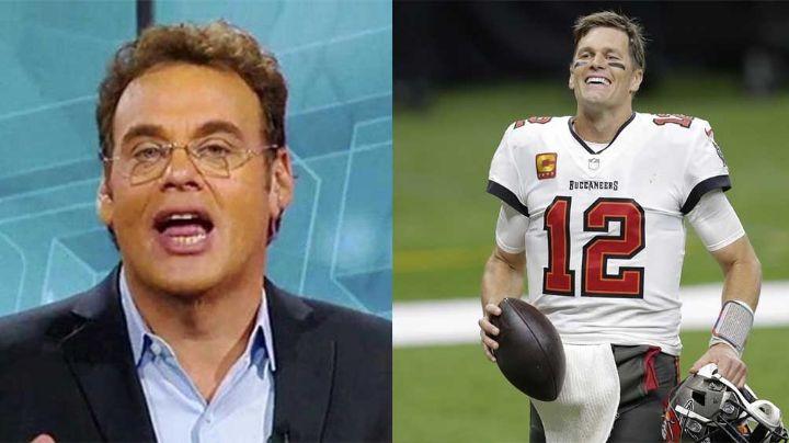 David Faitelson se 'autotrollea' en Twitter por el pase de Tom Brady a otro Super Bowl