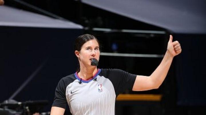 ¡Poder femenino! NBA hace historia al incluir a dos mujeres árbitro en un partido para este lunes 25 de enero