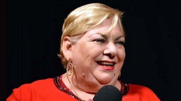 Paquita la del Barrio se registra como precandidata a diputada y hasta canta en el evento