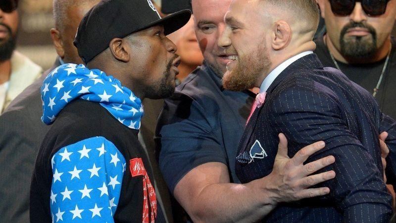 Floyd Mayweather se burla de la derrota de Conor McGregor
