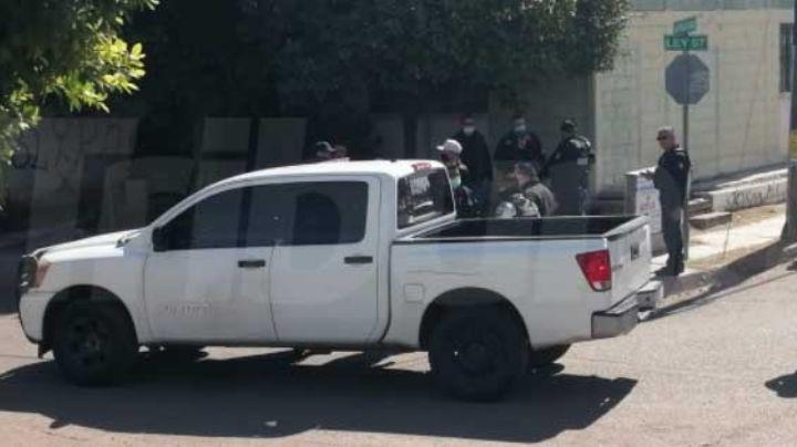 Obregón: Detienen a hombre armado en la Primero de Mayo; se cayó al huir