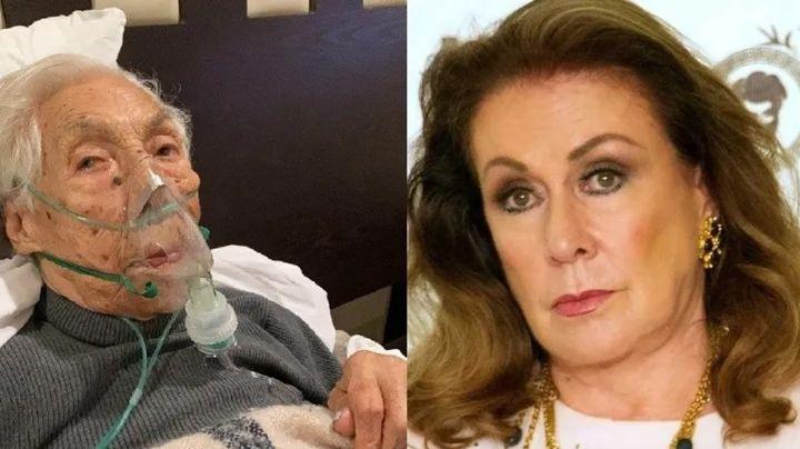 ¡Lamentable! Abuela de Laura Zapata sigue pasándola mal; el asilo ya está siendo fiscalizado