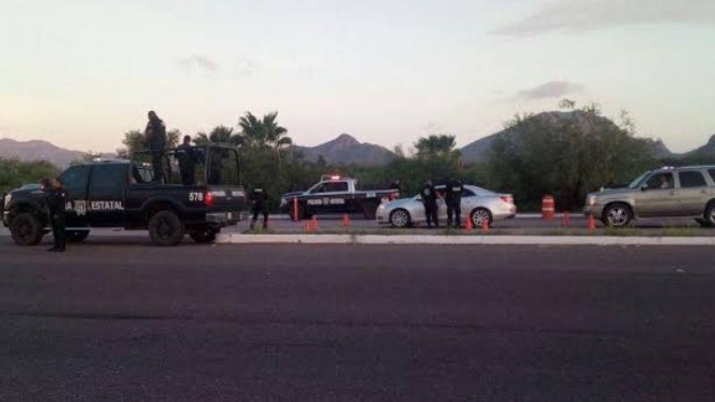 Comando armado despoja a conductor de su camioneta en carretera Guaymas-Hermosillo