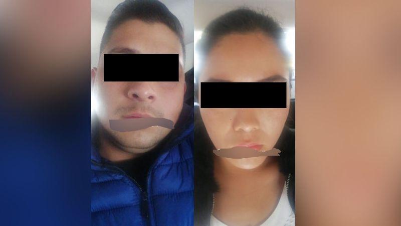 Cae pareja que a base de la venta de sanitizantes secuestraban a personas