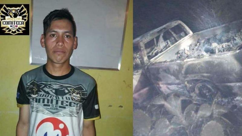 Trágico final: Él es Marvin, futbolista de 22 años hallado calcinado tras masacre a migrantes