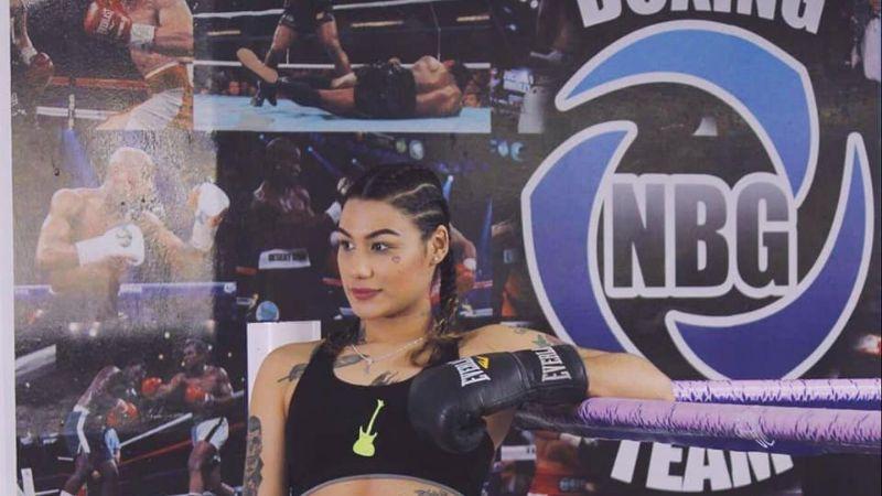La cajemense Alejandra la 'Rockera' Guzmán va por el campeonato mundial Super Gallo del CMB