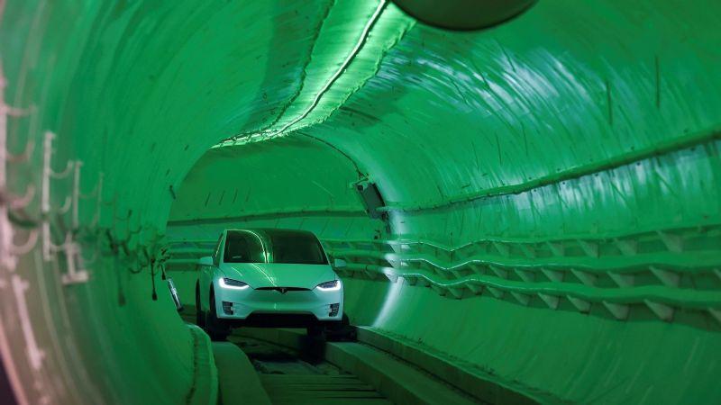 'Vegas Loop', el megatúnel con el que Elon Musk busca revolucionar el transporte turístico