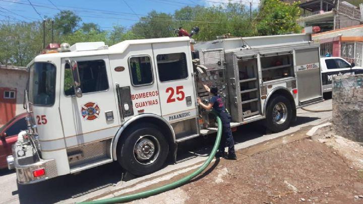 Guaymas: Hombre se salva de morir en un incendio provocado en la Misión del Sol