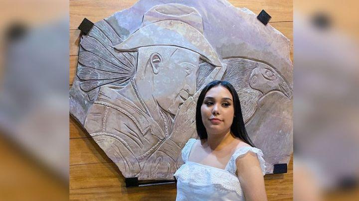 Valentina Elizalde, hija del 'Gallo de Oro', está dispuesta a seguir con el legado de su padre