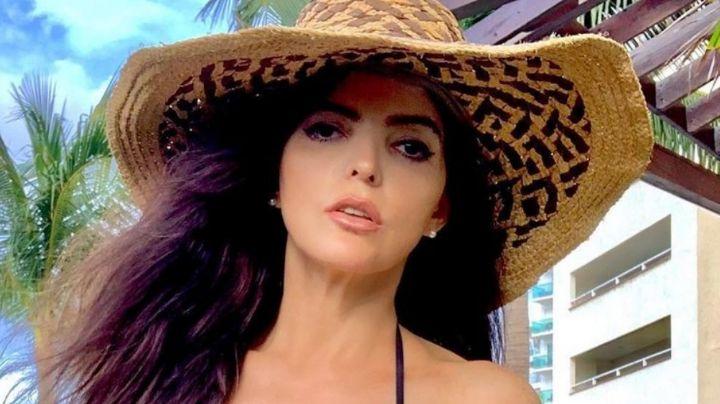 ¡Señorona! Ana Bárbara se escapa a Cancún y comparte imperdibles fotos