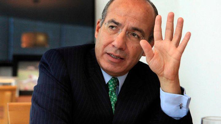 Felipe Calderón despotrica contra la alianza 'Va por México'