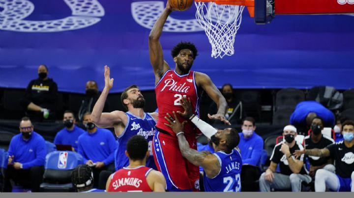 Fin de la perfección: Lakers sufren primer revés en gira al caer ante los 76ers