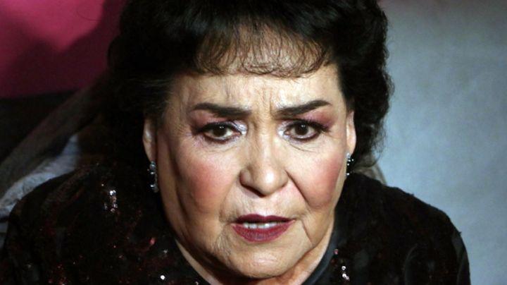 Con tristeza, Carmen Salinas recuerda a fallecido familiar a 6 meses de su partida