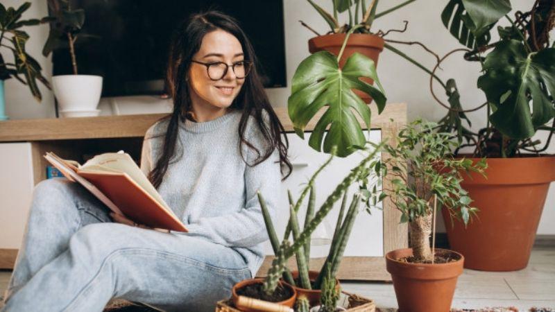 ¡Anímate! Estas son las razones por las que tener flores y plantas en casa te hace bien
