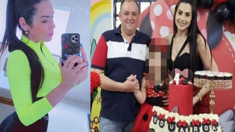 Brutal feminicidio: Esposo de influencer de TikTok la mata de 14 tiros frente a su hija de 6 años