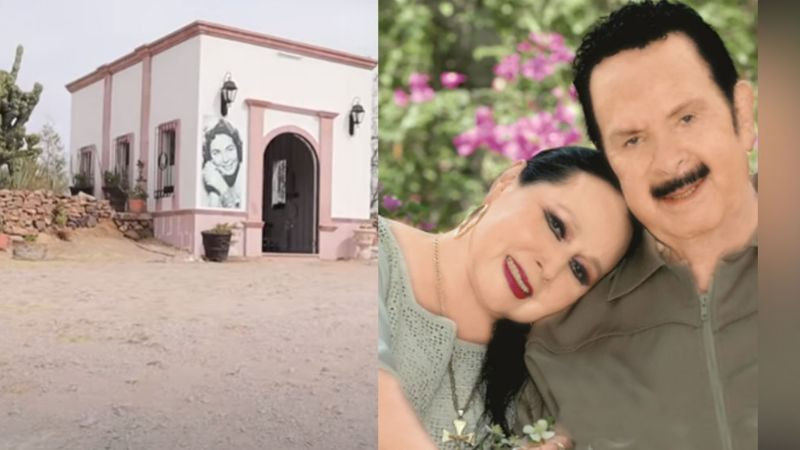 Así luce la tumba donde descansan los restos de Antonio Aguilar y Flor Silvestre