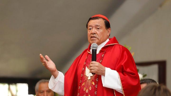 Miembro de la Iglesia Católica revela cómo está Norberto Rivera; esto dijo del cardenal