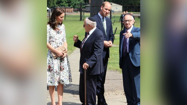 Sobrevivientes del Holocausto tienen tierna reacción al ver a Kate Middleton