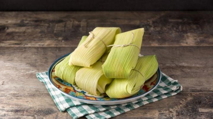 ¿Te salió el niño en la rosca? Paga tu deuda con esta increíble receta de tamales verdes