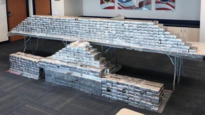Duro golpe al CJNG: Decomisan 663 paquetes de metanfetamina en Texas