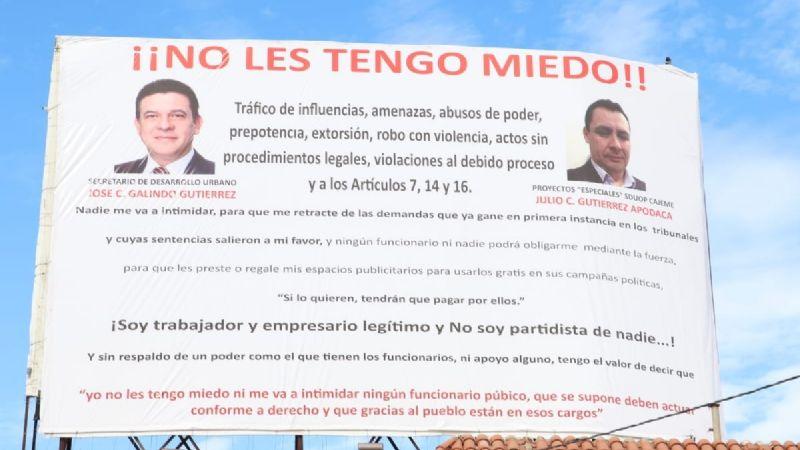 """""""No les tengo miedo"""": Exponen a funcionarios de Ciudad Obregón por supuestas amenazas y abuso de poder"""