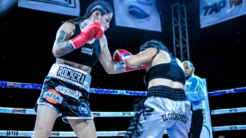 Entrevista Exclusiva: Alejandra 'Rockera' Guzmán promete traer el título mundial a Ciudad Obregón