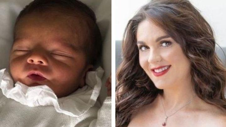 Zoraida Gómez, hermana de Eleazar Gómez, rapa a su bebé y muestra el tierno resultado