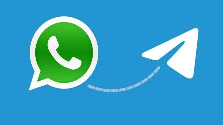 ¿Se une al enemigo? De esta manera WhatsApp permanece en Telegram, su competencia