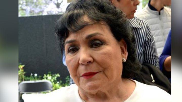 Televisa, de luto: Reportan muerte del hermano menor de Carmen Salinas