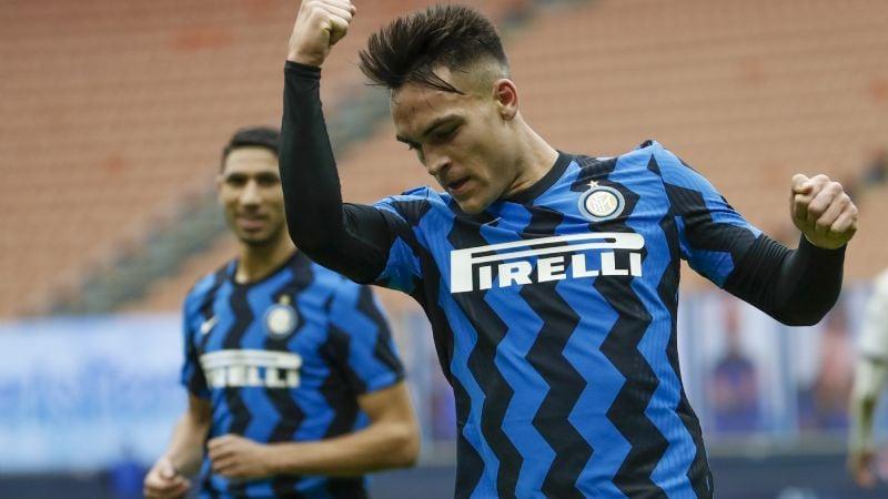 Lautaro Martínez encabeza goleada del Inter al Crotone con un 'hat-trick'