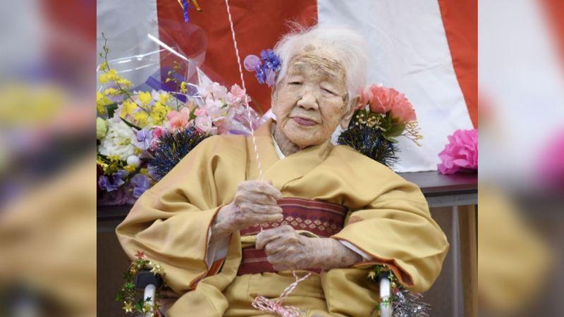Ella es Kane Tanaka, la mujer más vieja del mundo que cumple sus 118 años