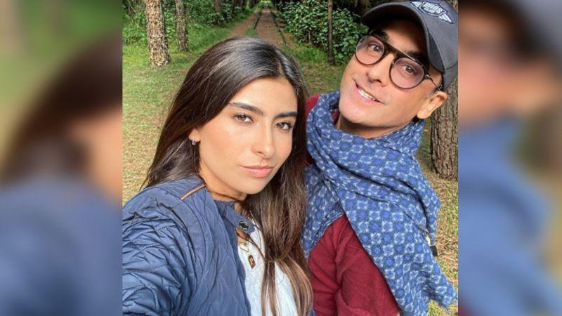 Adal Ramones deja su 2021 en manos de Paola, la joven de 20 años que logró enamorarlo