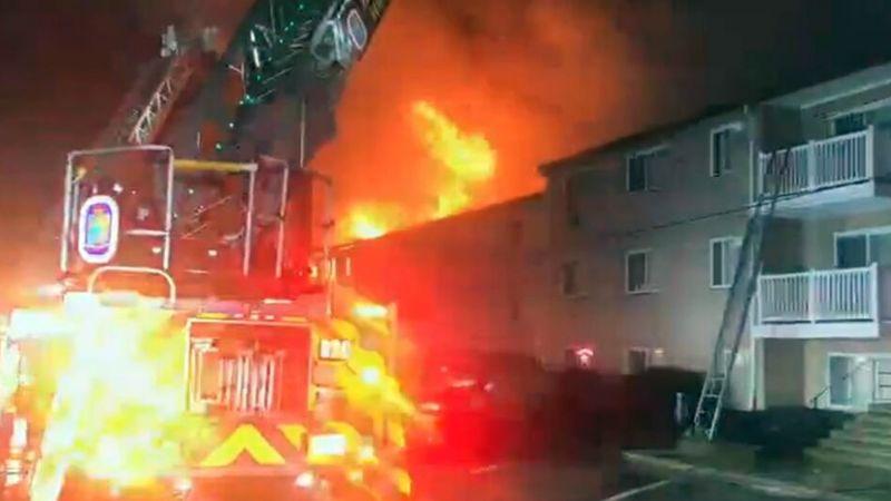Policía de Maryland captura a mujer que incendió edificio y dejó a 62 personas sin hogar