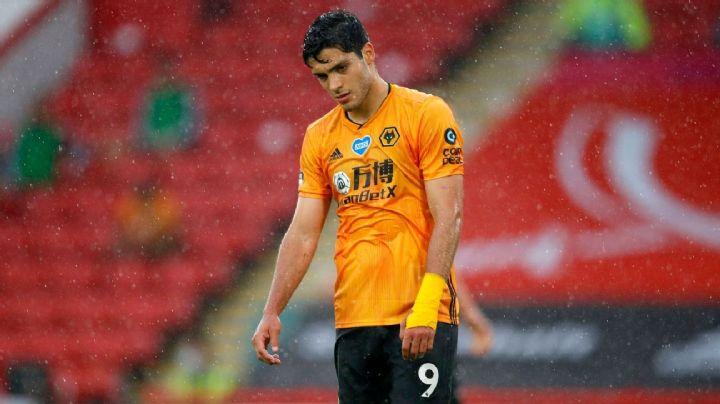 A los 'Wolves' les urge el regreso de Raúl Jiménez; suman una nueva derrota