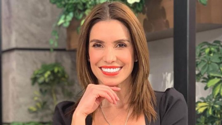Confiada en su belleza, Andrea Escalona aparece en 'Hoy' con coqueto vestido amarillo