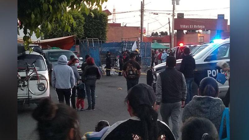 Habitantes de Puebla encuentran un feto en el interior de un contenedor de basura