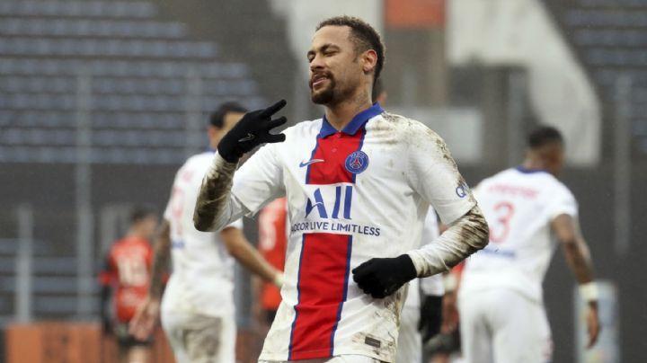 Ni los goles de Neymar salvan al PSG, que cae en su visita a Lorient y cede la cima de la Ligue 1