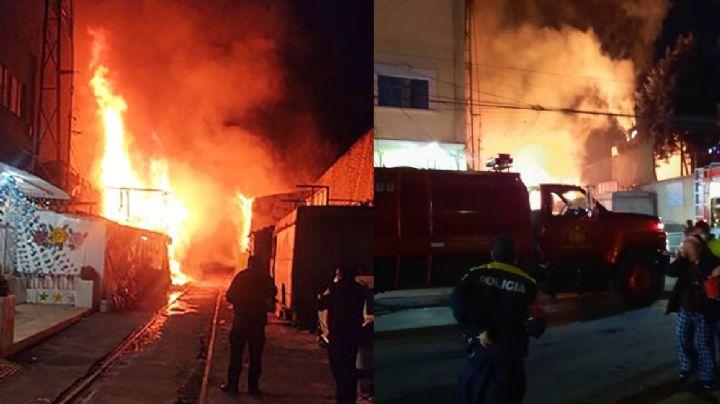 Debido a incendio en Tacuba, Congreso local exige a las autoridades apoyar a los 50 afectados