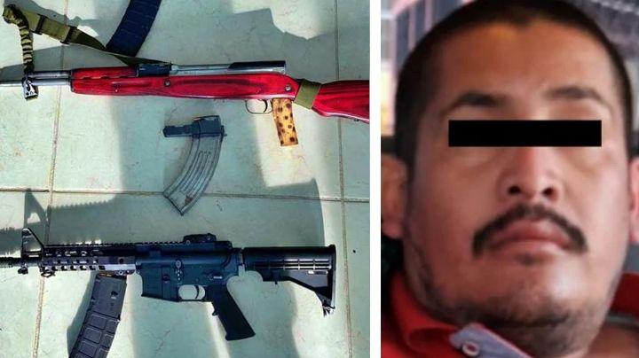 Sonora: Sujeto detenido por homicidio escondía armamento y otro cadáver