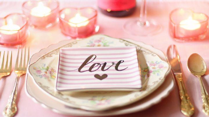 San Valentín: ¿Cómo tener una cena romántica en la comodidad de tu casa?