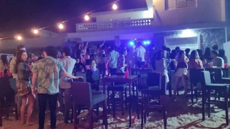 Pese a Covid-19, jóvenes organizan una gran fiesta y autoridades se la clausuran