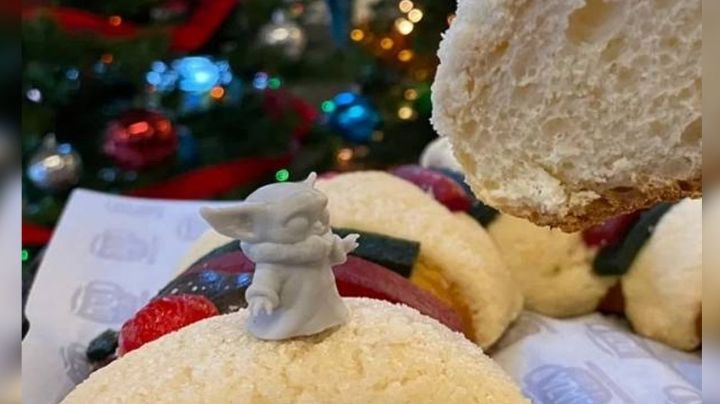 Rosca de Reyes con Baby Yoda se considera 'irrespetuosa' ante la tradicional historia