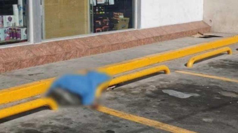 Guaymas: Encuentran cuerpo sin vida de indigente afuera de tienda de conveniencia